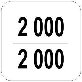 2000 / 2000